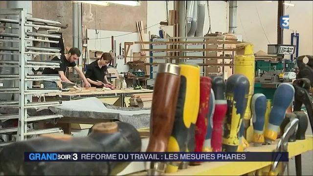 Réforme du travail : les mesures annoncées