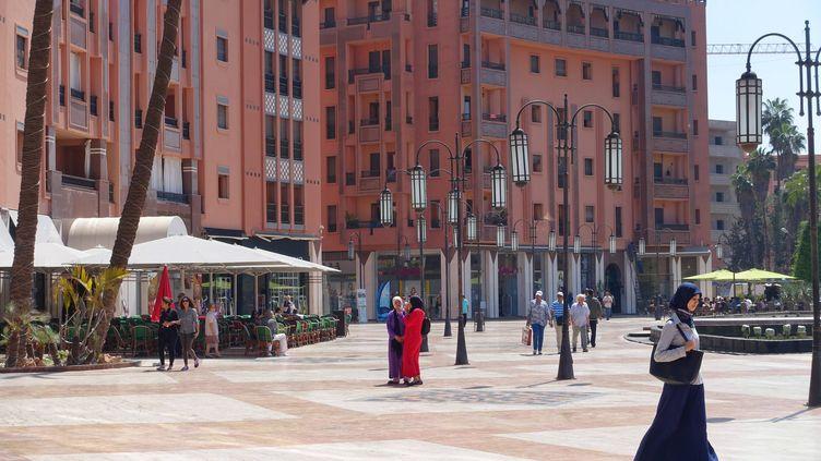 Le quartier deGueliz, à Marrakech, au Maroc. Image d'illustration. (FRANCK DUBRAY / MAXPPP)