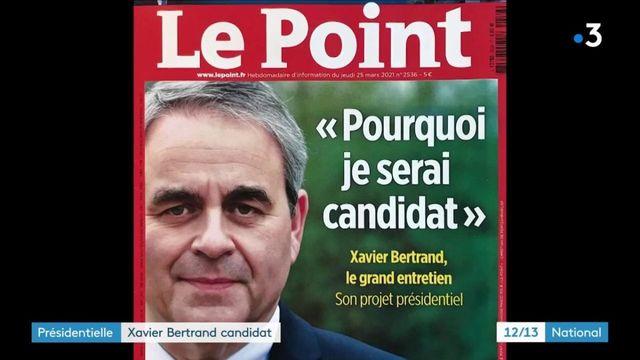 Politique : Xavier Bertrand candidat à la présidentielle de 2022
