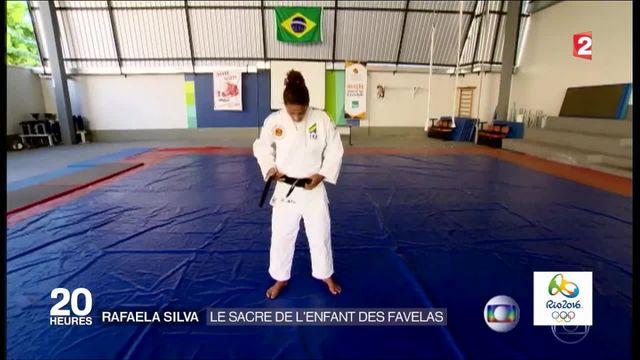 Jeux olympiques : la belle histoire de Rafaela Silva