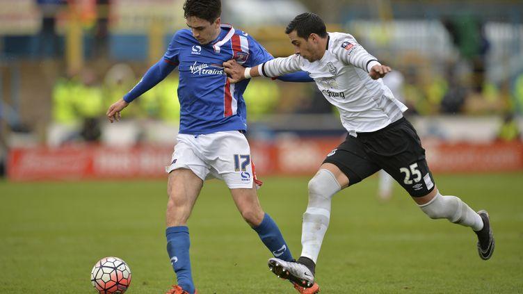 L'Argentin Ramiro Funes Mori (Everton) (PAUL ELLIS / AFP)