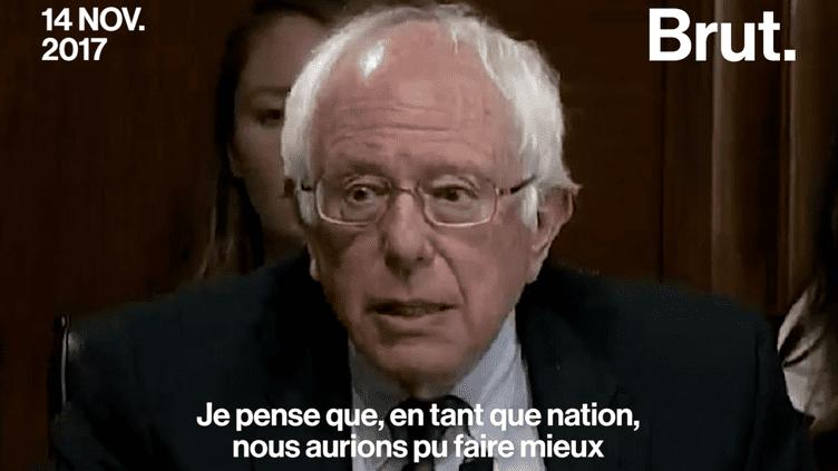 Porto Rico : Bernie Sanders pousse un coup de gueule. (Brut.)