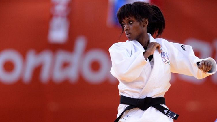 La judokate Priscilla Gneto