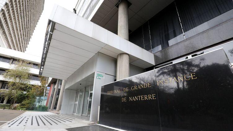 Le tribunal judiciaire de Nanterre dans les Hauts-de-Seine. (JEAN-BAPTISTE QUENTIN / MAXPPP)
