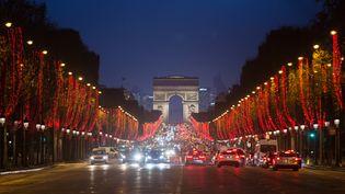 L'Arc de triomphe, le 17 décembre 2018 à Paris. (IRINA KALASHNIKOVA / SPUTNIK / AFP)