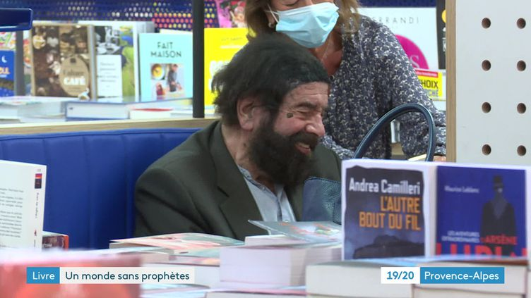 Marek Halter en dédicaces à Marseille (FRANCE 3)