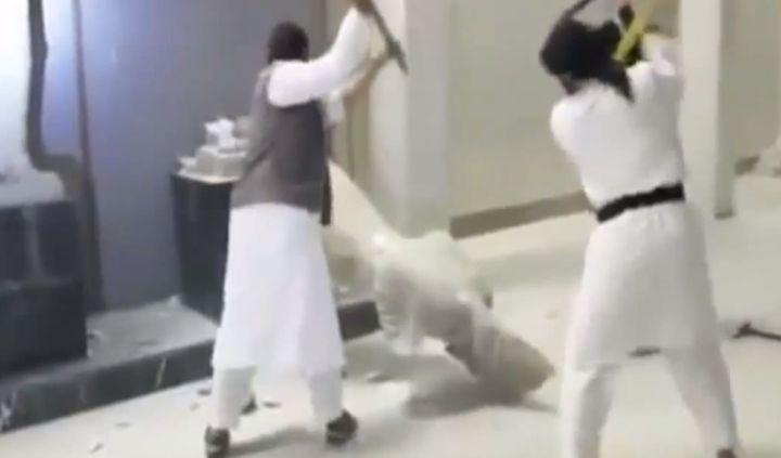 Les destructions de Mossoul le 26 février 2015  (EyePress News)