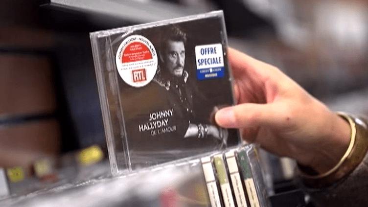 Le dernier album de Johnny Hallyday dans les bacs  (France 2 / Culturebox)