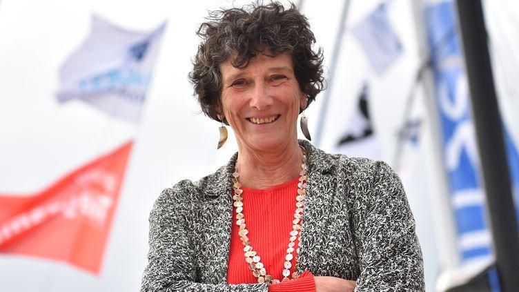 Isabelle Autissier, présidente du WWF France, le 1er novembre 2018. (LOIC VENANCE / AFP)