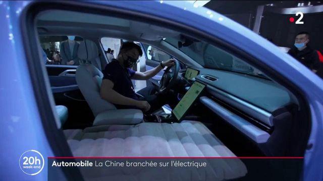 Chine : le succès grandissant des voitures électriques