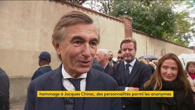 Douste-Blazy, Debré, Madelin... aux Invalides pour rendre hommage à Jacques Chirac