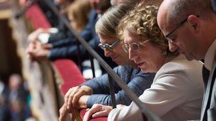 Muriel Pénicaud lors de la réunion du congrès à Versailles, le 3 juillet 2017. (JACQUES WITT / MAXPPP)