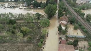 Inondation dans l'Aude (FRANCE 2)