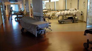 Les urgences du CHU de Poitiers. (MAXPPP)