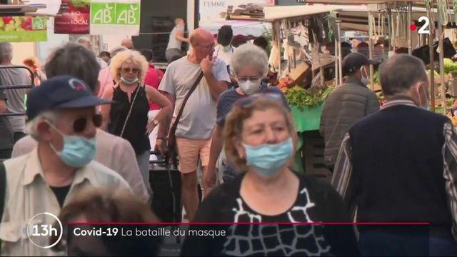 Coronavirus: la bataille des masques de protection