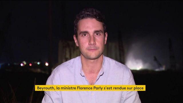 Beyrouth : la ministre Florence Parly s'est rendue sur place
