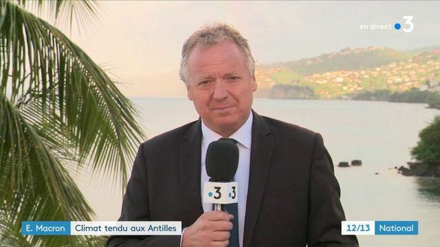 Antilles : un déplacement sous tension pour Emmanuel Macron