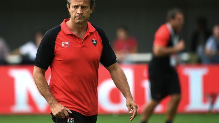 Fabien Galthié, le nouvel homme fort du RC Toulon. (PASCAL GUYOT / AFP)