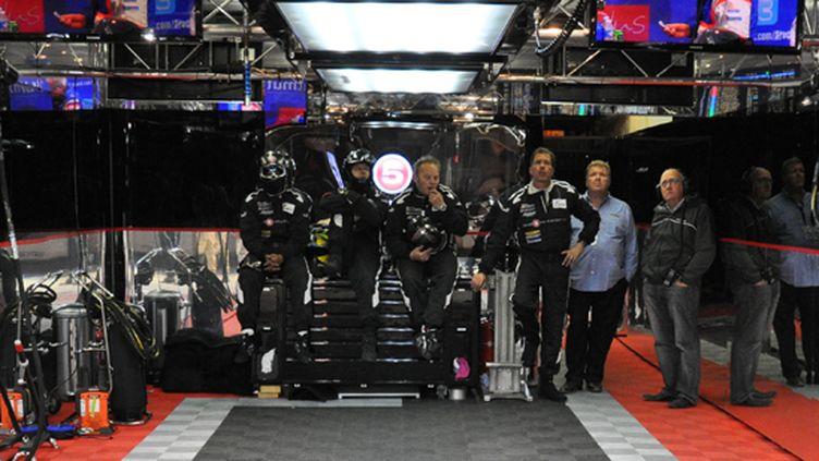 Petit moment de calme pendant les 24 Heures du Mans