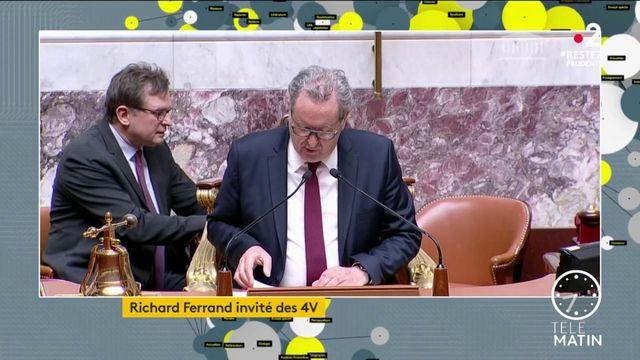 """Richard Ferrand (LREM) """"considère que la majorité à toujours la majorité"""""""