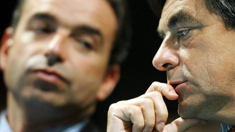"""L'entourage de François Fillon a précisé que la décision avait été prise """"à l'Elysée le 17 mars"""". (archives) (AFP PHOTO / FREDERICK FLORIN)"""