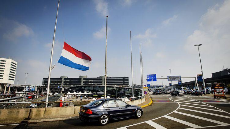 Le drapeau des Pays-Bas à Amsterdam en 2015. (REMKO DE WAAL / ANP)