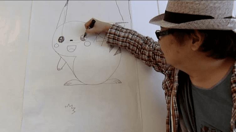 L'un des auteurs de Pokemon, version manga, donne un cours de dessin à des enfants bordelais  (France 3)
