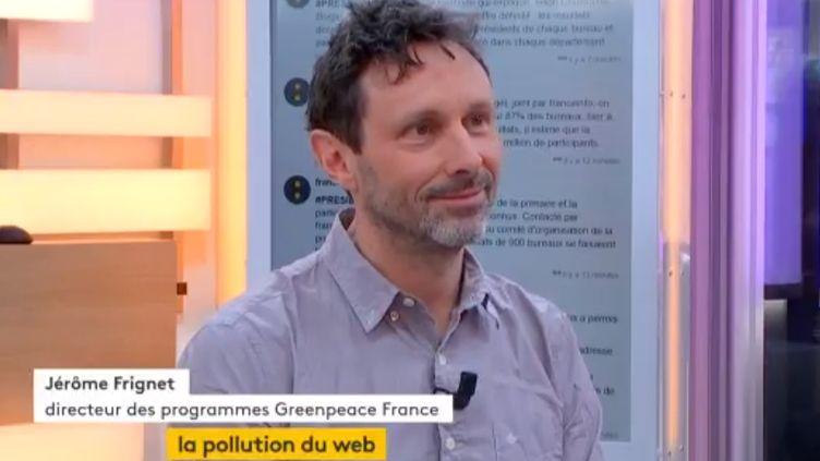 Jérôme Frignet, directeur des programmes Greenpeace France (FRANCEINFO)