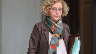 La ministre du Travail Muriel Pénicaud quitte l'Elysée, le 5 décembre 2018. (LUDOVIC MARIN / AFP)