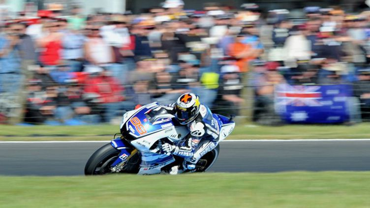 Jorge Lorenzo (Yamaha) (PAUL CROCK / AFP)