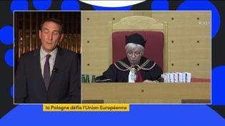Europe : nouvelle provocation de la Pologne à l'encontre de l'Union européenne (FRANCEINFO)
