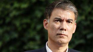 Olivier Faure, premier secrétaire du Parti socialiste, à Paris, le 17 juillet 2019. (THOMAS SAMSON / AFP)