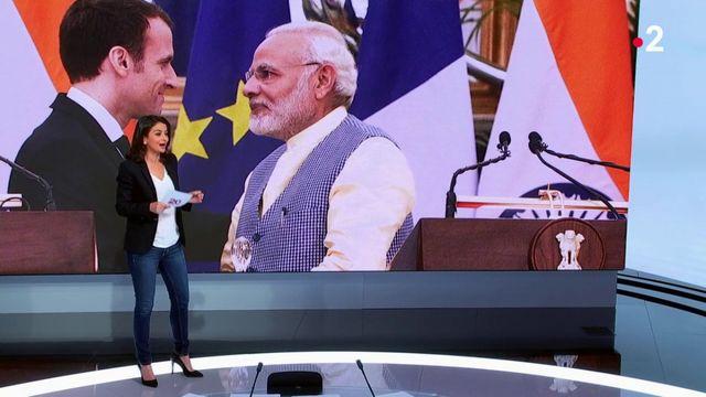Emmanuel Macron en Inde : accord stratégique avec l'Inde