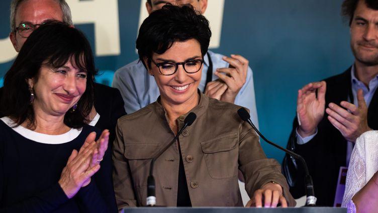 Rachida Dati, chef de file Les Républicains aux municipales 2020 à Paris, le 28 juin. (ALEXIS SCIARD  / MAXPPP)