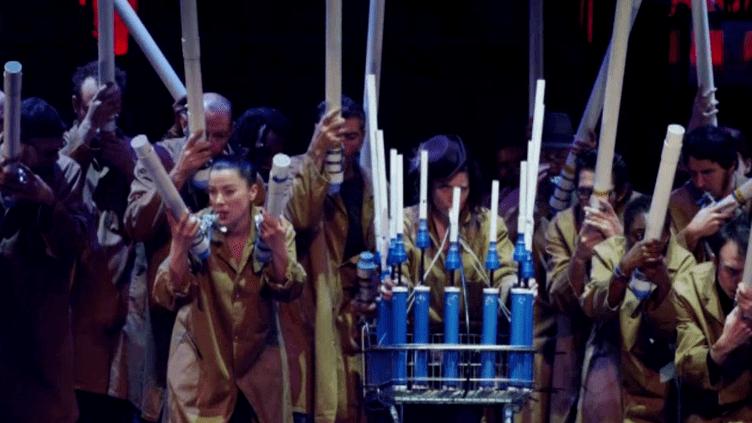 Un orchestre symphonique et anarchique !  (Capture d'écran France 3)
