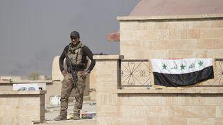 L'armée irakienne dansBartellale 23 octobre 0216 (MATT CETTI-ROBERTS/LNP / MAXPPP)
