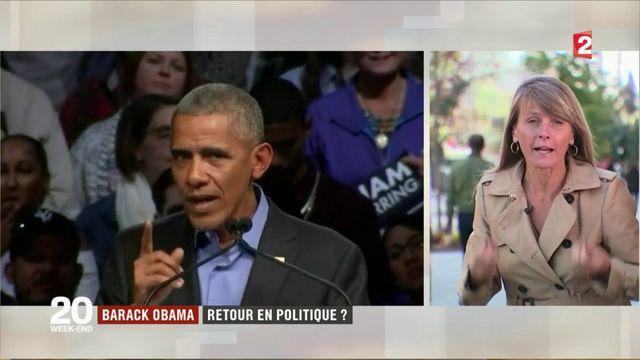 Barack Obama : retour en politique pour l'ancien président ?