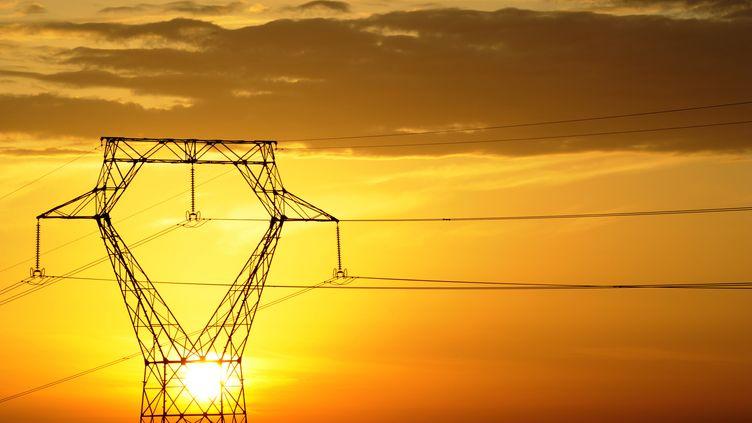 Jusqu'à 800 000 foyers ont été privés d'électricité en Bretagne et dans les Pays de la Loire, dans la nuit du mardi 30 juin au mercredi 1er juillet 2015. (DAMIEN MEYER / AFP)