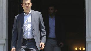 Le Premier ministre grec, Alexis Tsipras, le 9 juillet 2015, à Athènes(Grèce). (ALKIS KONSTANTINIDIS / REUTERS)