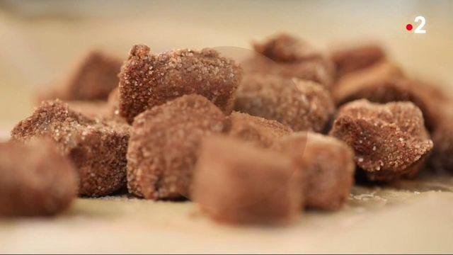 Chocolat : le Grès des Vosges,un caillou à la praline