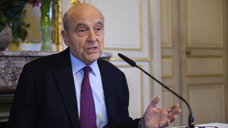 Alain Juppé à la mairie de Bordeaux, le 23 janvier 2019. (MEHDI FEDOUACH / AFP)