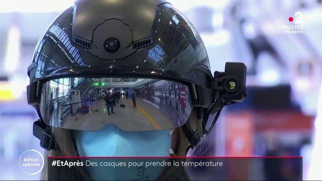 #EtAprès : des casques pour prendre la température en Italie