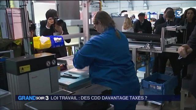 Loi travail : vers la sur taxation des CDD ?