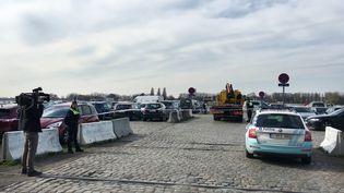 Un Français a été arrêté à Anvers (Belgique) après avoir tenté de foncer sur la foule dans une rue piétonne, jeudi 23 mars 2017. (TAMARA VAN HASSELT / BELGA MAG / AFP)
