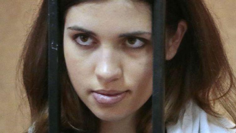 Nadejda Tolokonnikova des Pussy Riot, en avril 2013.  (STR/AP/SIPA)
