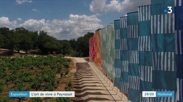 Var : les œuvres monumentales de la Commanderie de Peyrassol