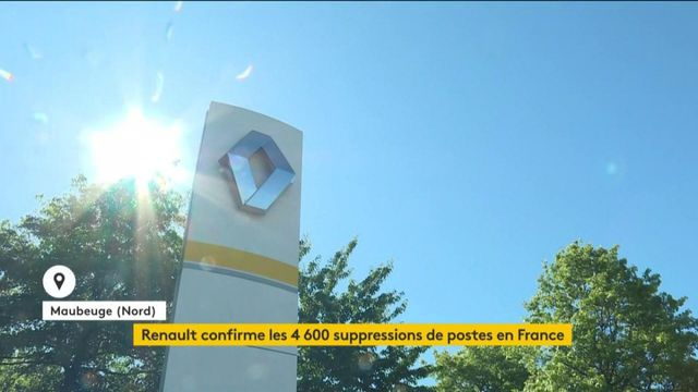 Renault confirme la suppression de 4 600 emplois en France