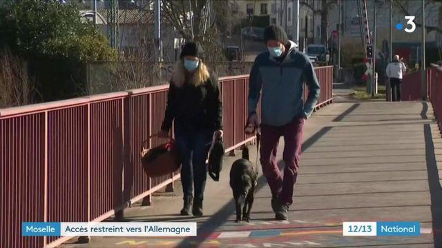 Covid-19 : l'Allemagne durcit ses conditions d'entrée, les habitants transfrontaliers de Moselle vont devoir s'adapter