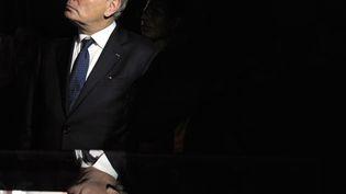 Jean-Marc Ayrault, le 26 juin 2013, durant les commémorations pour le centenaire d'Aimé Césaire, à Fort-de-France, en Martinique. (JEAN-MICHEL ANDRE / AFP)