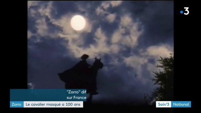 """Le mythique héros """"Zorro"""" fête ses 100 ans"""